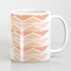 triangle sunset Mug