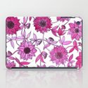 small pink flowers iPad Case