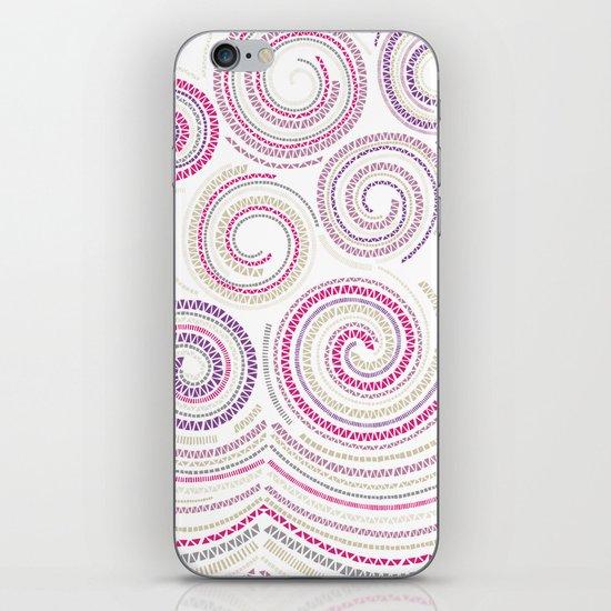 Mosaic Swirls iPhone & iPod Skin