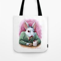 Count Fluffington, CPA Tote Bag