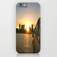 iPhone & iPod Case featuring Urban Sunset  by SilverFoxRun