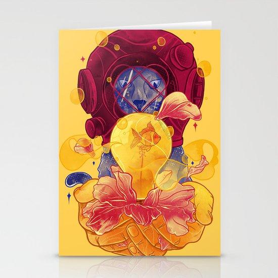 La Lumiere (Yellow) Stationery Card