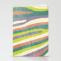 Fruit Stripes. Stationery Cards
