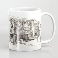 de vere's irish pub, davis Mug