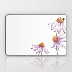 Watercolor Purple Cone Flower Laptop & iPad Skin