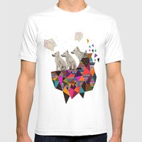 The Night Playground By … Mens Fitted Tee White SMALL