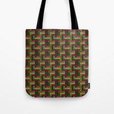 Woven Pixels III Tote Bag