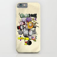 iPhone & iPod Case featuring Time is a Circus by J.Nell Konschak
