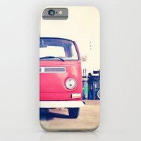 iPhone & iPod Case featuring Vintage Volkswagen Bus by Laura Ruth