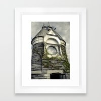 Rapunzel Castle (Central Park) Framed Art Print