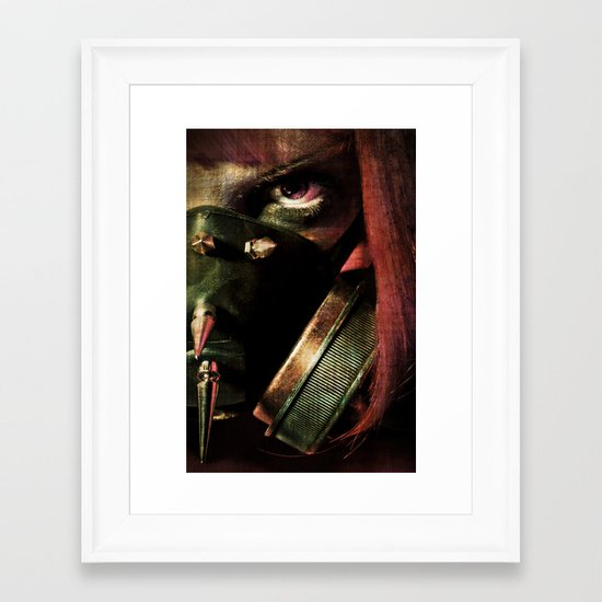 Only The Good Die Young Framed Art Print