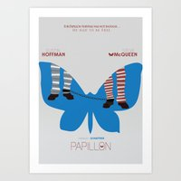 Papillon - Alternative Movie Poster Art Print