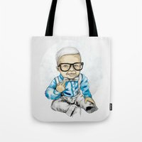 Naughty Boy by carographic Tote Bag