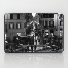 Rain in Rome iPad Case
