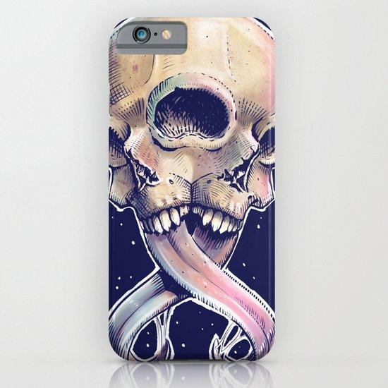 Triple eyed skull iPhone & iPod Case