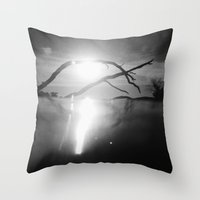 Surface Level . Ii Throw Pillow