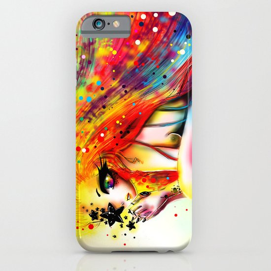 SHE IS RAINBOW iPhone & iPod Case