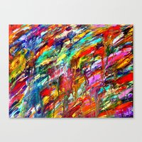 Colorful Waters Canvas Print