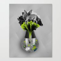 There's ecology in every drop Canvas Print