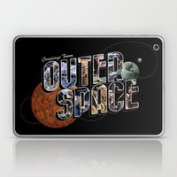 Greetings From Outer Spa… Laptop & iPad Skin