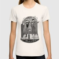 U-boat  Womens Fitted Tee Natural SMALL