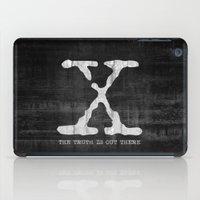 X-Files Poster iPad Case