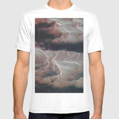 Word of Dream MEDIUM White Mens Fitted Tee