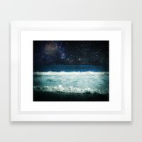 The Sound And The Silenc… Framed Art Print