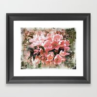 Sakura Style Framed Art Print