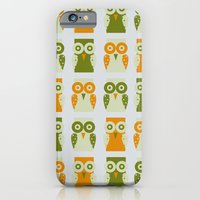 iPhone & iPod Case featuring Owls by robrayner