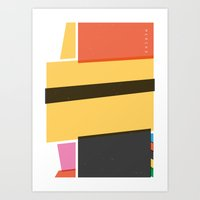 SECRET CYCLING FLAG - ME… Art Print