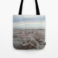 Snowy Gate Tote Bag