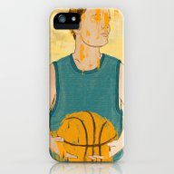 iPhone & iPod Case featuring Losing My Love For Baske… by Daniel Fishel