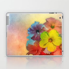 Colorful Hibiscus Bouquet Laptop & iPad Skin