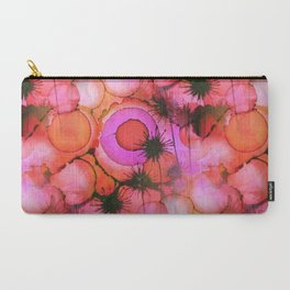 Carry-All Pouch - Palm Trees on Sunset Stains - Kirsten Star