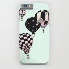 Pastel Skies Hot Air Balloon Rides iPhone 6 Slim Case