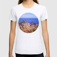 Sunken City  Womens Fitted Tee Ash Grey SMALL