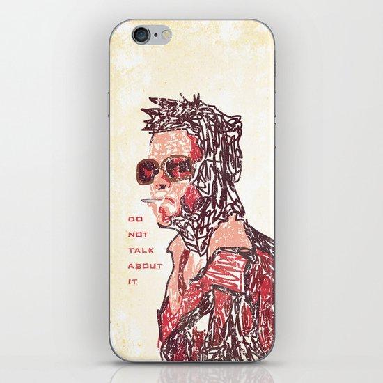 Tyler iPhone & iPod Skin