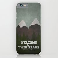 iPhone & iPod Case featuring Welcome to Twin Peaks by Justin Cybulski