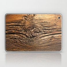 Woodgrain Laptop & iPad Skin