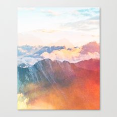Mountain Glory #society6 #decor #buyart Canvas Print