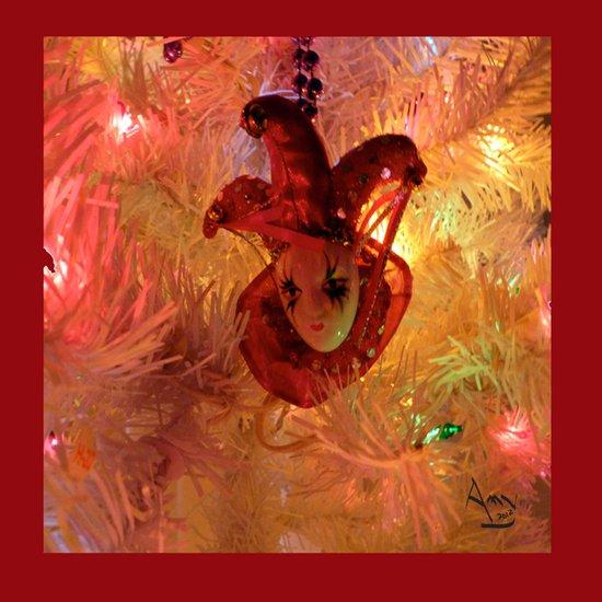 New Orleans Christmas Art Print