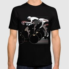 Velodrome SMALL Mens Fitted Tee Black