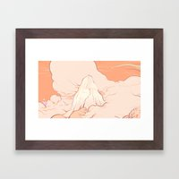Magic Mountain Framed Art Print