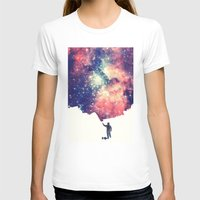 world T-shirts featuring Painting the universe by badbugs_art