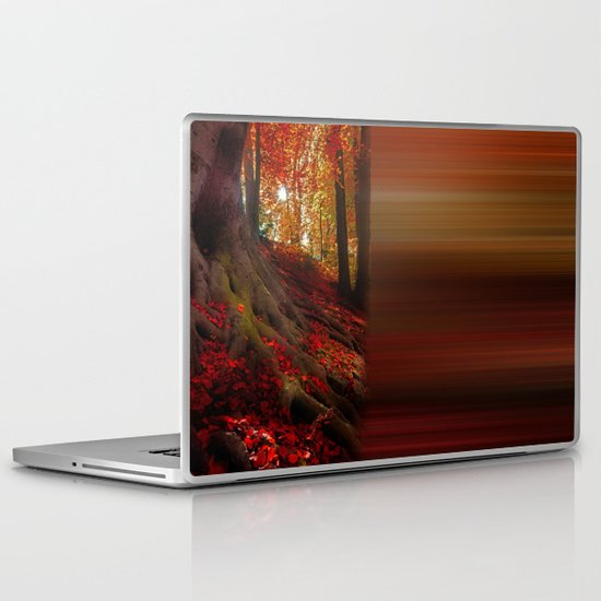 Autumn light Laptop & iPad Skin