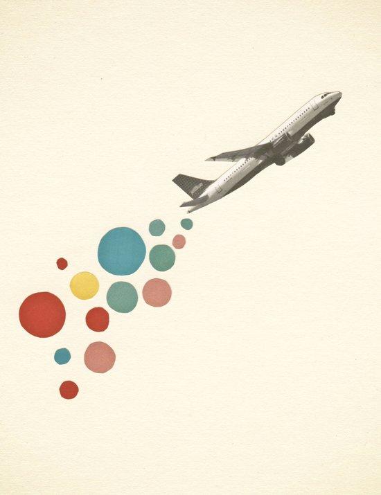 Leaving on a Jet Plane Art Print