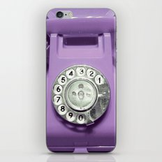 OLD PHONE - VIOLET EDITI… iPhone & iPod Skin