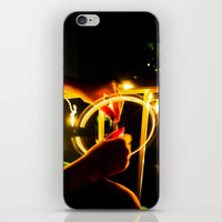 Light Wheel iPhone & iPod Skin
