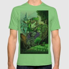 link's journey Mens Fitted Tee Grass SMALL